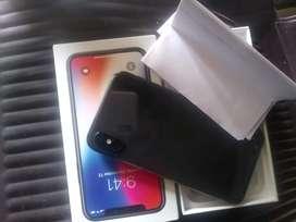 I phone x 64gb all acesdry