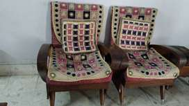 Sofa set in a good condition