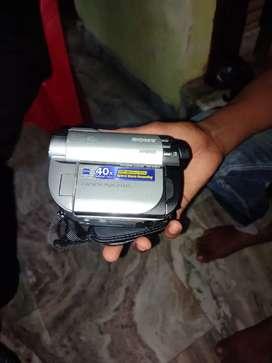 Sony hybrid camera DCR-DVD610