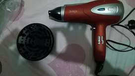Surker Hair Dryer condition 10/10 only 4 days used