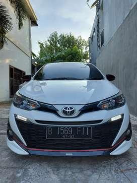Toyota yaris trd 2018 putih