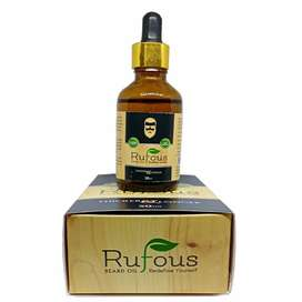 Rs. 190 Free Delivery Rufous Beard Oil Growth - 50ml Beard Growth Oil