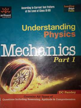 Mechanics part 1 and part 2 DC pandey