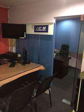 Training institute fully furnished for sale
