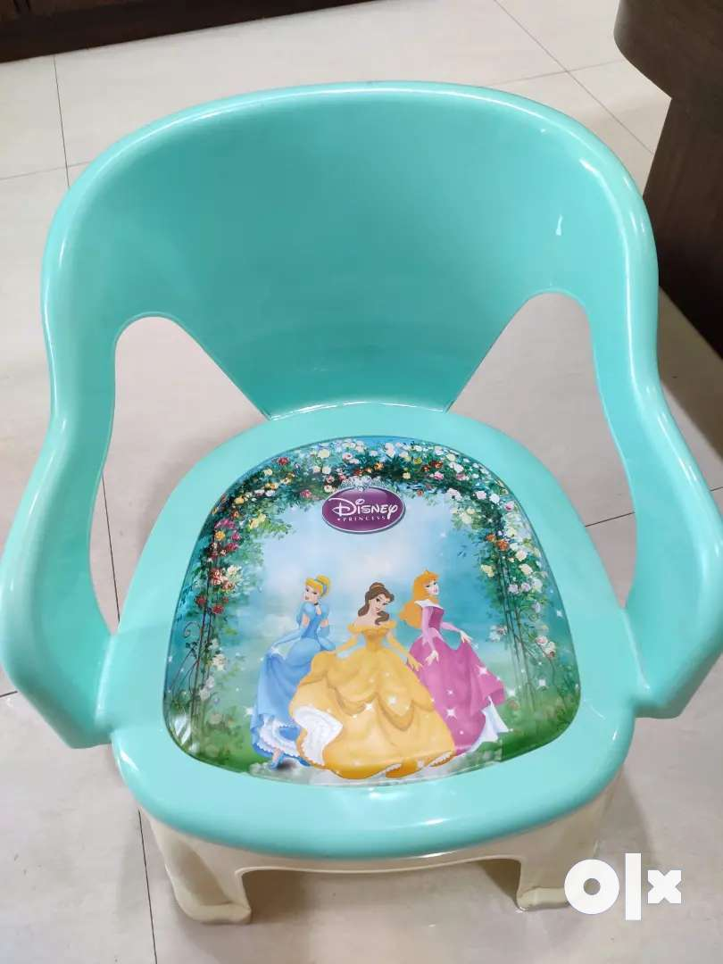 Kids Plastic Chair New Unused (Non negotiable)
