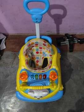 Firstcry 3 in 1 Baby walker cume Rocker