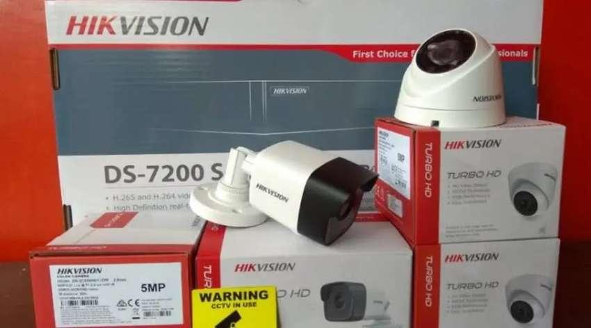 [PROMO] PAKET CCTV Hikvision 5MP Turbo HD 4 Kamera 0