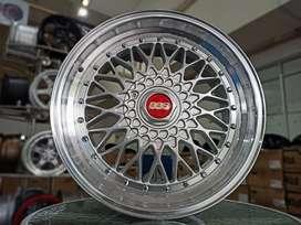 Velg Celong BBS RS Ring 18x8.5/9.5 h10x114./120 BMW Camry Civic Innova