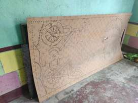 Electric boards and Jhar lamp
