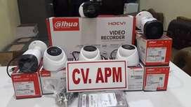 CCTV MURAH DAHUA LENSA 2MP 1080P,DVR 4CH,HD 500GB PLUS PASANG