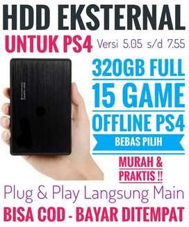 HDD 320GB Mantap FULL 15 Game Terlaris PS4 Bebas Pilih