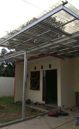 Kami bengkel las nerimah pemasangan kanopi atap solartap $$2006