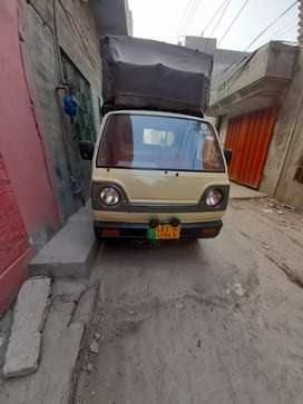 Pickup having Petrol, Lpg, Cng with new tyres and very good condition.