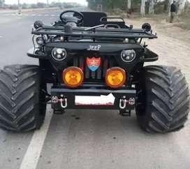 Modified Jeep amba Jeep modifier