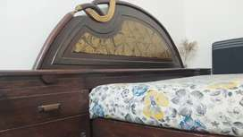 Double Bed And Dressing Table