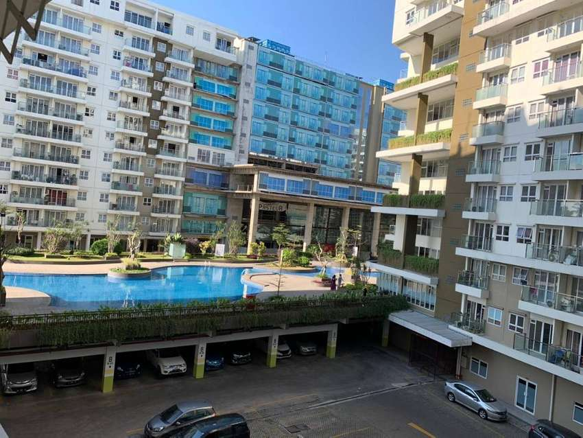 Disewakan apartment gateway pasteur 2bed view kolam renang diamond 0