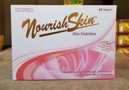 [TERMURAH] READY dan ORIGINAL Nourish Skin 30 tablet noBox (60tab+box) 0
