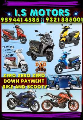 Low down payment just pay 0 old SCOOTY exchange