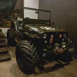 Willy jeep, open jeep , Mahindra Jeep Modified by bombay jeeps ambala