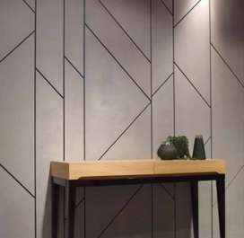 Fashion wallpapers in home