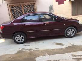 Genuine Corolla se saloon 2005