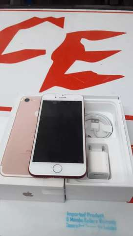 Brand New iPhone 7 128 GB with 6 MONTHS WARRANTY ,bill and accessories