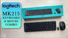 Logitech MK215 Wireless Keyboard and Mouse Combo