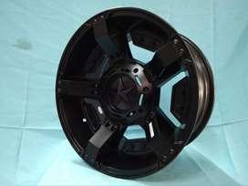 jual velg fortuner RASTA JT5295 HSR Ring 15 pcd 6X139,7 warna SMB
