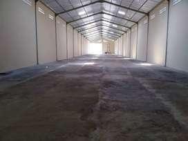 Gudang Bagus disewakan, Luas 2360 m2, Lb. 1000 m2, klaten