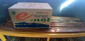 Box baru kue cake sperpart air minum sepatu