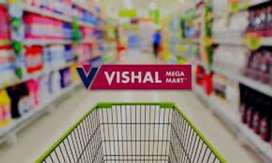 Required in Delhi vishal sopping moll