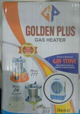 Golden plus Gas Heater with Single Burner Stove
