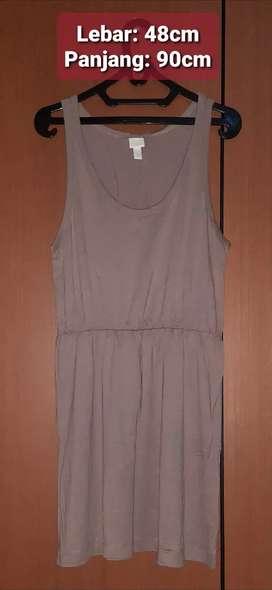 PRELOVED - Dress Basics H&M brown