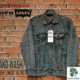 Jaket jeans levis gratis ongkir dan bisa bayar ditempat import quality