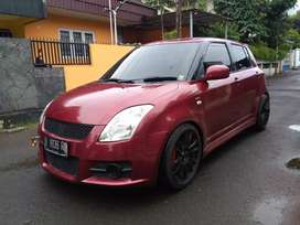 SWIFT 1.5 GT2 AT 2008 RED // MULPIS ISTIMEWA