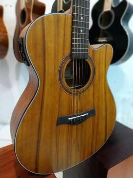 Gitar Akustik elektrik pabrikan comwood