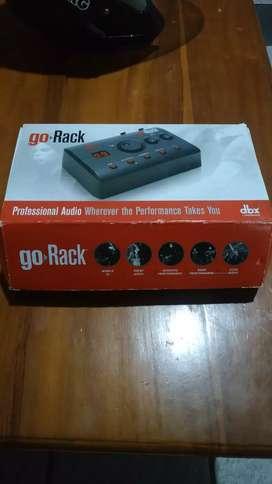 Dbx Go rack efek suara