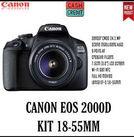 CAMERA CANON EOS 2000D Kit 18-55MM New Garansi 1tahun