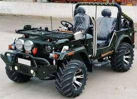 Open Hunter Jeep and Mahindra Thar and Maruti Gypsy