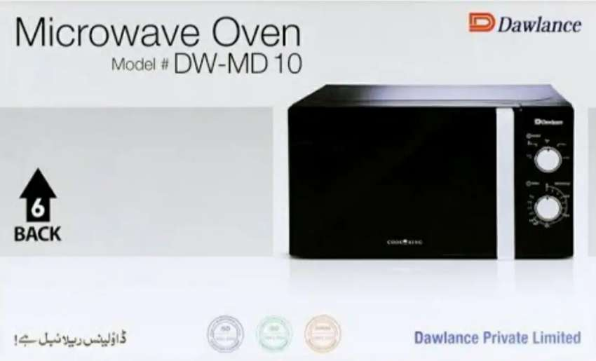 Dawlance Microwave oven 20 Litre (DW-MD10) 0