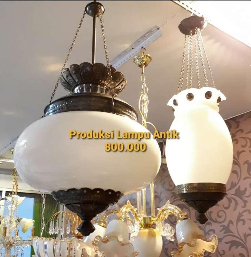 Lampu Kuningan Asli Gantung Antik Klasik Hias Joglo Gebyok 0