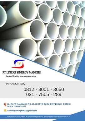 "PIPA PVC SUPRAMAS AW + MOF 2"" 4M/BTG MURAH LENGKAP"