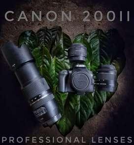Canon 200d ii rent 1000