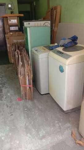 Terima barang rusak mesin cuci tv tabung led lcd ac kulkas dll