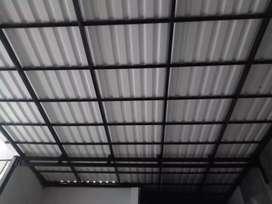 Kanopi baja ringan atap Alderon dobel layer