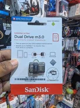 Flashdisk Sandisk OTG USB 3.0 32 GB