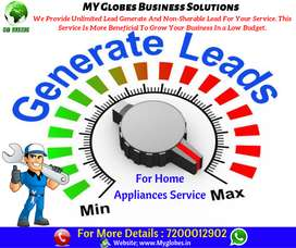 Leads Generation For Home Appliance Services.