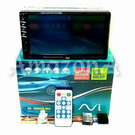 "HEAD UNIT 7"" DOUBLE DIN AVI JAPAN DESIGN PLUS PASANG DI KARAWACI"