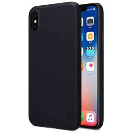 AyooDropship - Nillkin Super Frosted Shield Hard Case for iPhone X - B