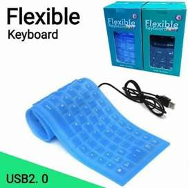 Keyboard flexible laptop